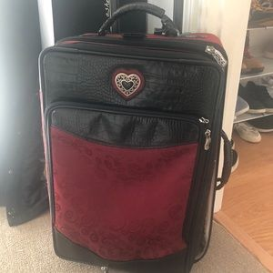Brighton Carry On rolling luggage